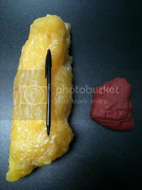 5 pounds of fat compared with 5 pounds of muscle