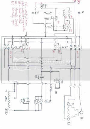 5hp 415v 3 phase lathe runs on single phase 240v and NO RPC