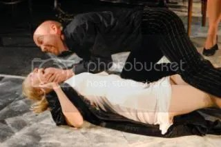Chris Gee and Olivia Vinall in Romeo and Juliet