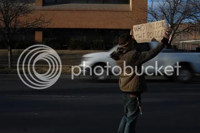 GJPD,Protest,Grand Junction,Brent Ingram