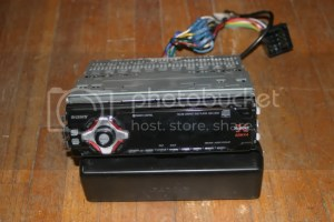 VWVortex  FS: Sony Xplod cd player head unit with