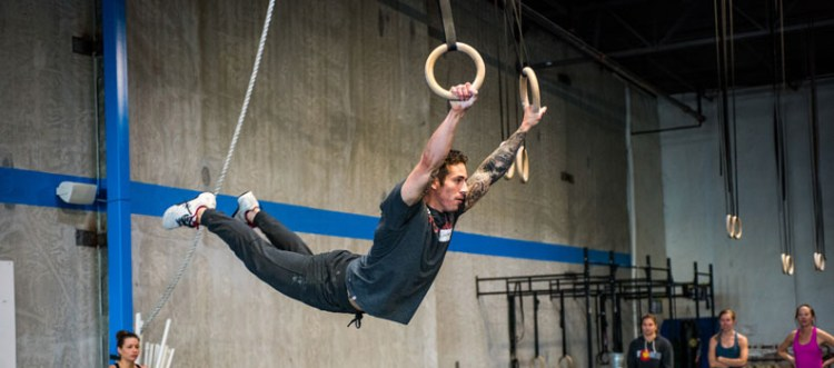 Gymnastics training for the 2016 Games