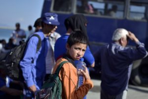 Cerca de 1 milhão de migrantes – 27% dos quais são crianças – chegaram à Europa em 2015, na pior crise migratória na região desde a 2ª Guerra Mundial