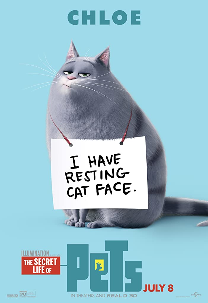 New The Secret Life of Pets Character Posters Celebrates National Pet Day 2