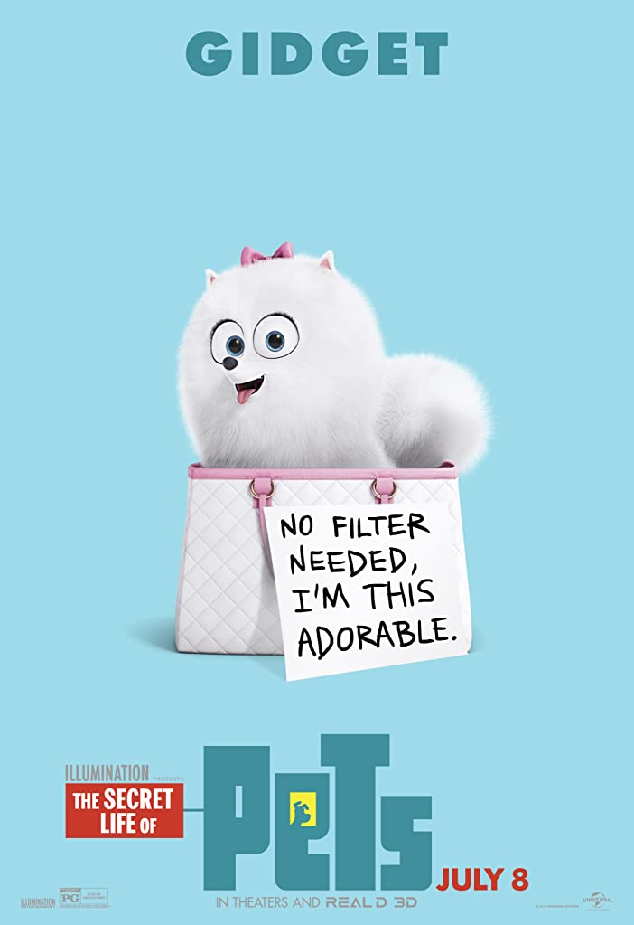 New The Secret Life of Pets Character Posters Celebrates National Pet Day 4