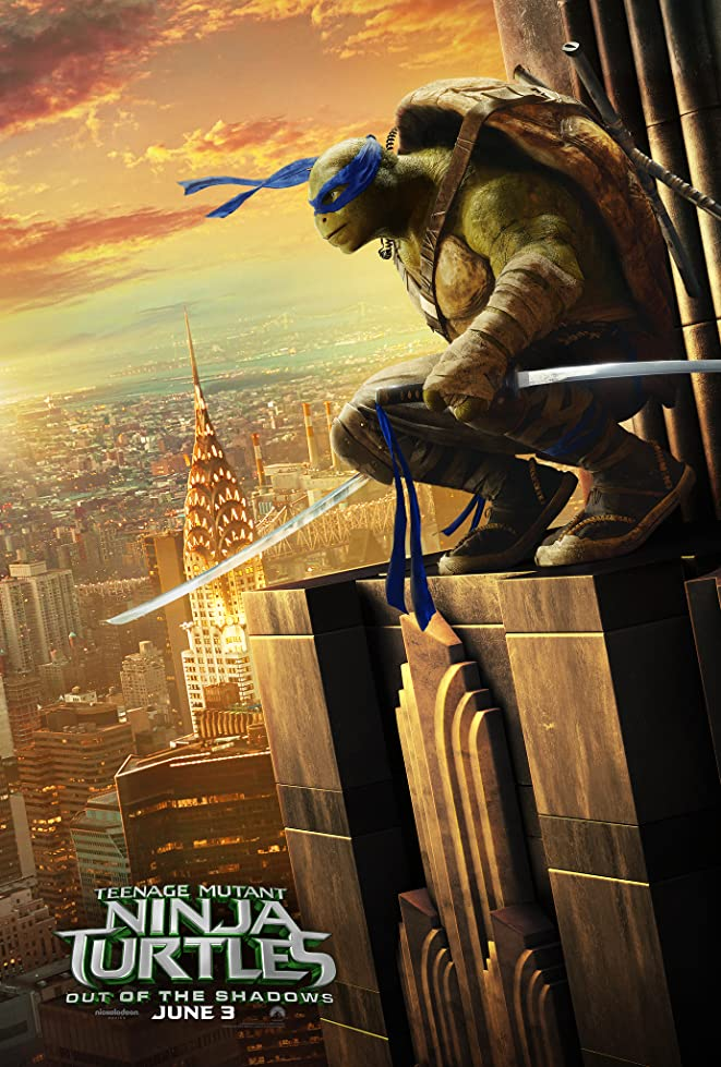 New Teenage Mutant Ninja Turtles: Out of the Shadows Trailer & Poster 5