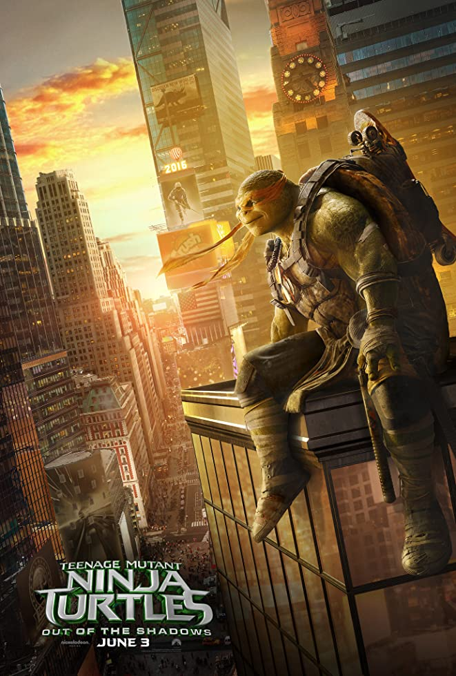 New Teenage Mutant Ninja Turtles: Out of the Shadows Trailer & Poster 8