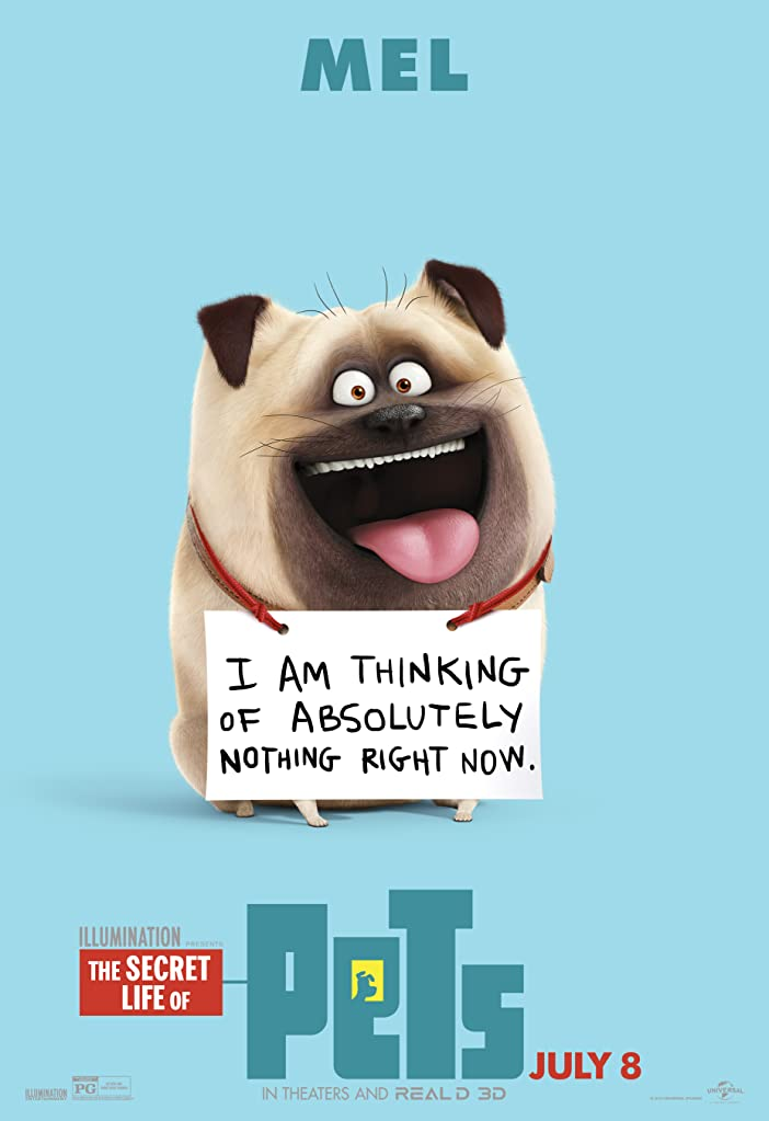 New The Secret Life of Pets Character Posters Celebrates National Pet Day 6