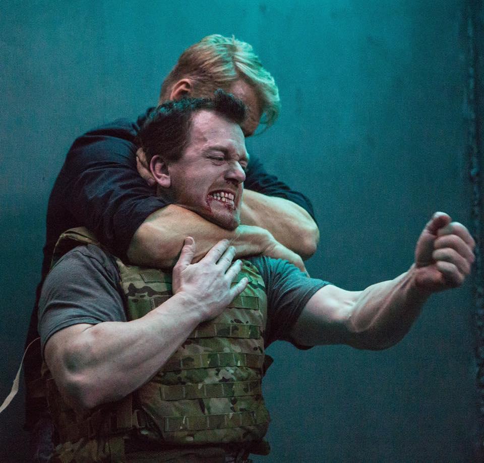 Dolph Lundgren and James P. Bennett in Black Water (2018)