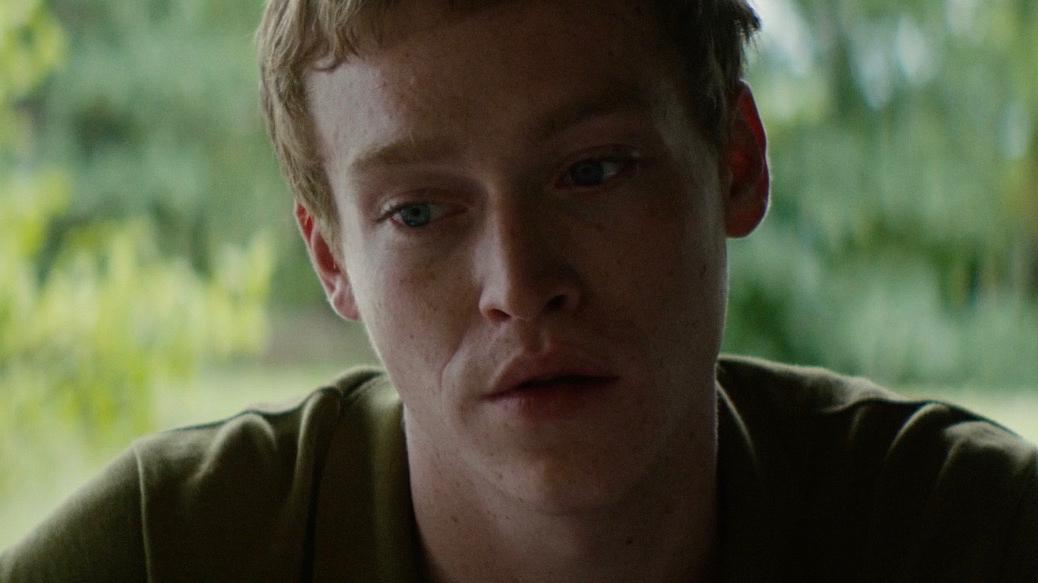 Caleb Landry Jones in Welcome the Stranger (2018)