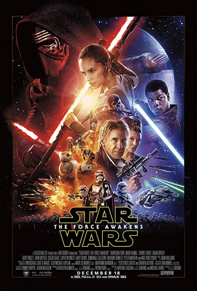 Star Wars: The Force Awakens (2015) full movie BluRay - 720p Original (DD5.1) Auds [Telugu + Tamil + Hindi + Eng] ESubs