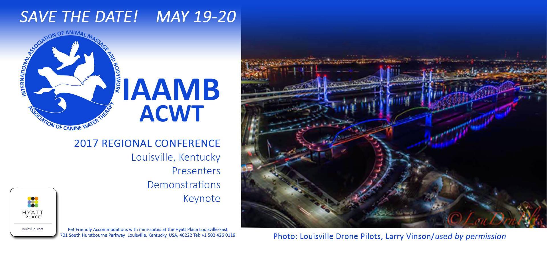 2017 IAAMB/ACWT Regional Conference Banner