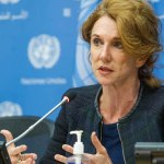 Press conference: by Ms. Sarah Crowe, Crisis Communications Chief, United Nations Children's Fund (UNICEF)
