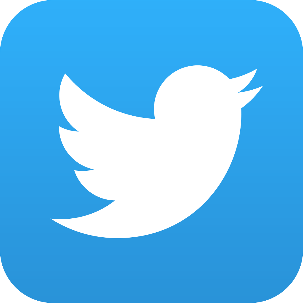 Image of Twitter logo for iOS.