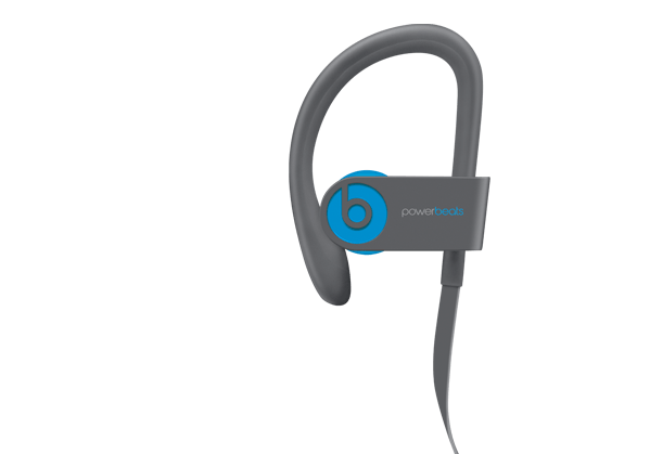 Side of the PowerBeats 3 with W1 Chip