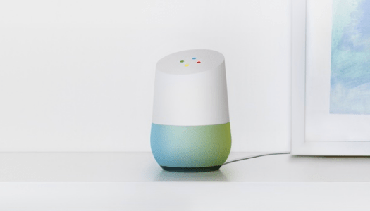 Image of a Google Home