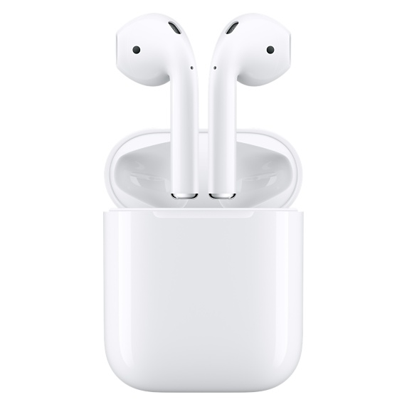 Apple AirPods in charging case