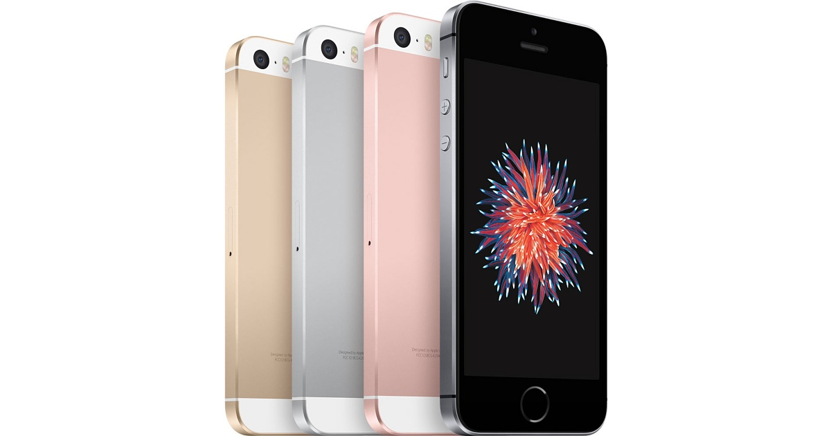 iPhone SE all colors