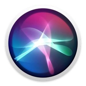 Circular Siri logo