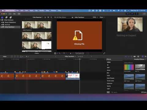Accessible Final Cut Pro Media management Tutorial
