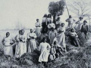 Reconstruction after slavery.