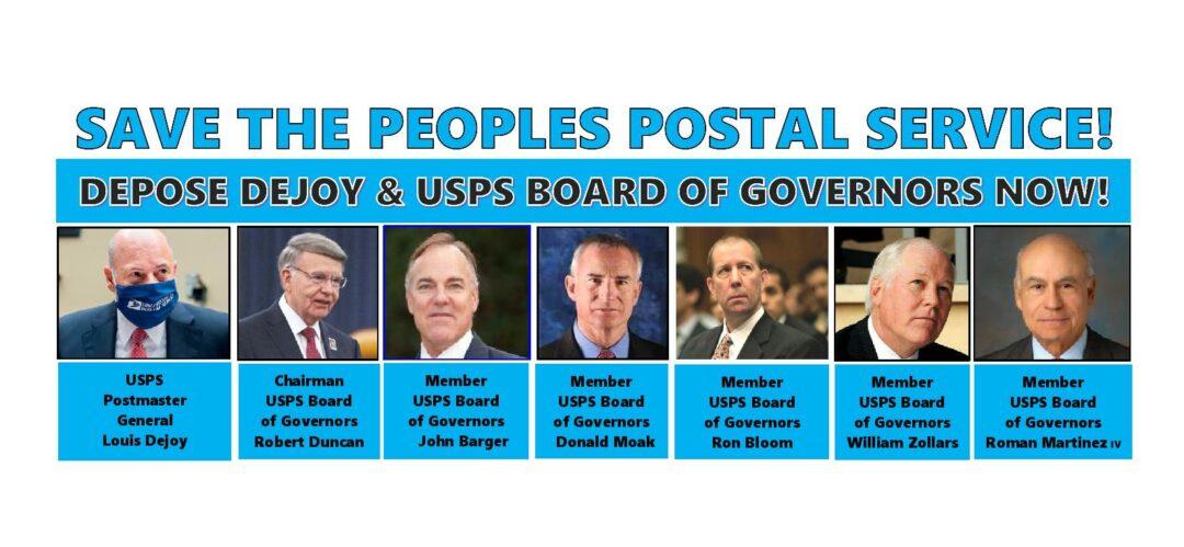 postal service postmaster general salary