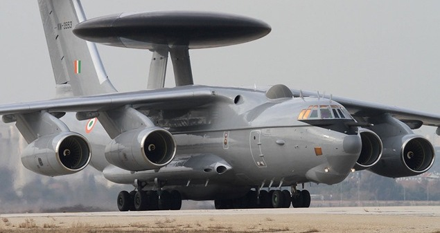 A-50 Beriev AEW&C in IAF, PLAAF & how does it compare to others