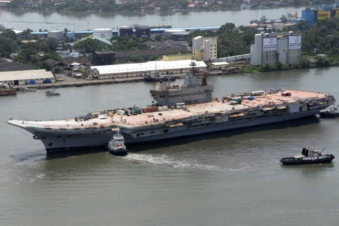 INS Vikrant to get LRSAM Cover soon
