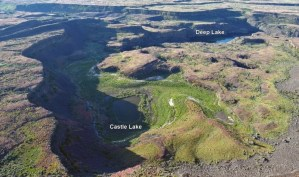 HIKES IN UPPER GRAND COULEE: CASTLE LAKE BASIN & GIANT CAVE ARCH @ Upper Grand Coulee Area