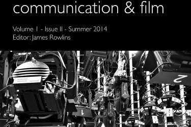 IAFOR Journal of Media Communication and Film COVER