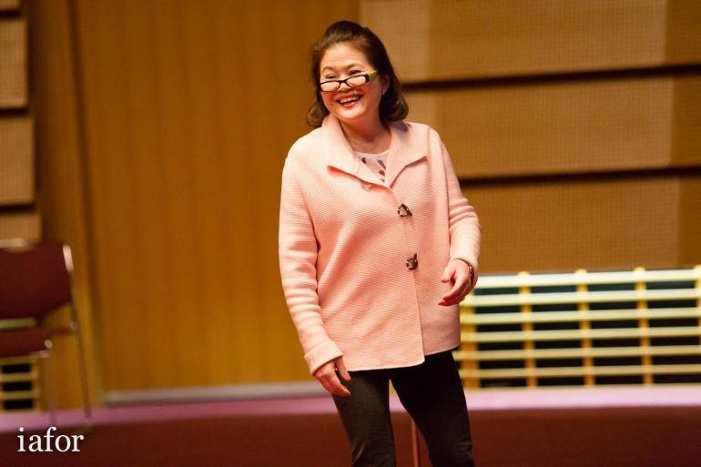 Hana fujimoto IAFOR librasia haiku workshop