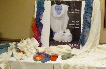 Angora on Display!