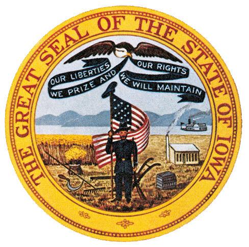 state seal of iowa