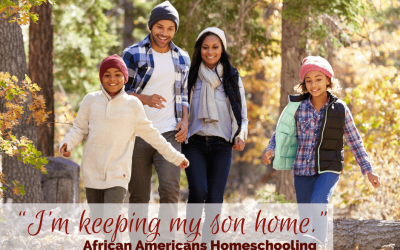 """""""I'm keeping my son home."""" African Americans Homeschooling"""