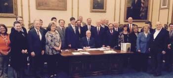 RFRA Bill Signing Ceremony