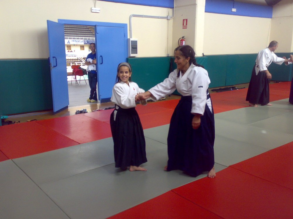 Curso de Aikido. Guillermo Pérez 5º Dan (3/4)