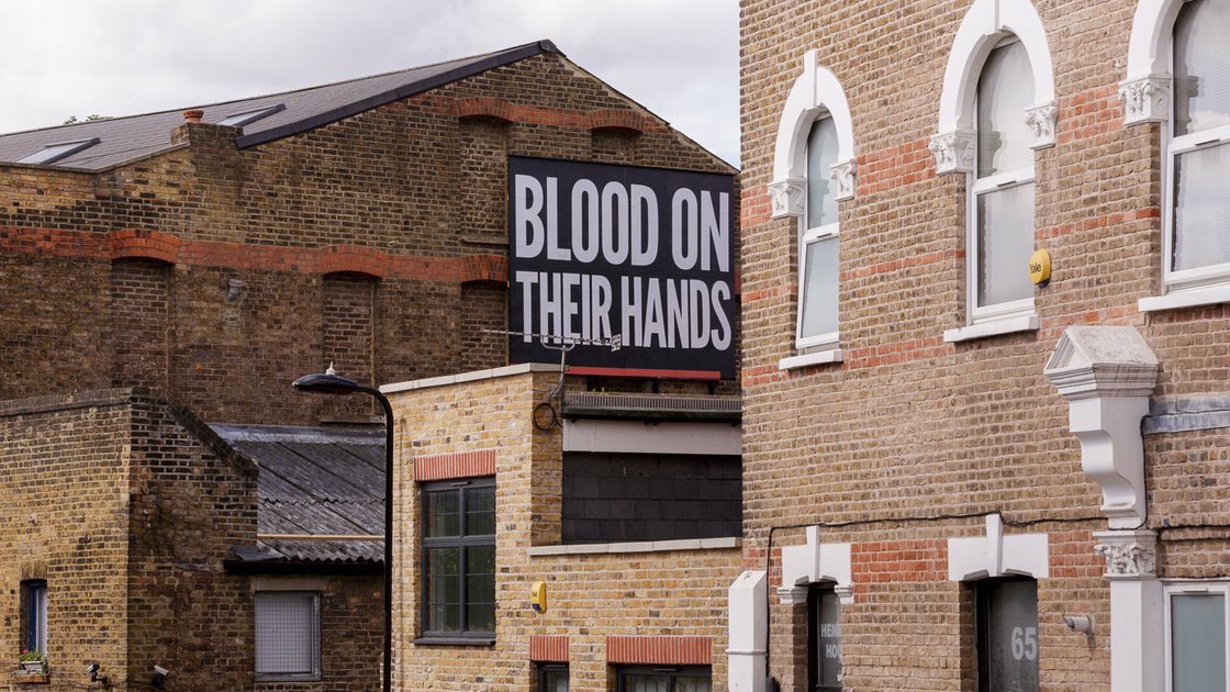 Blood on their hands!