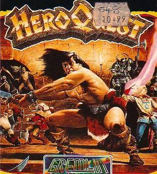 I once found a cheat for Hero Quest on the Spectrum