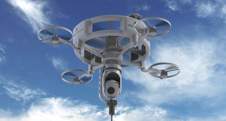 IAI and Sky Sapience Partner on Tethered Hovering Aerial Systems