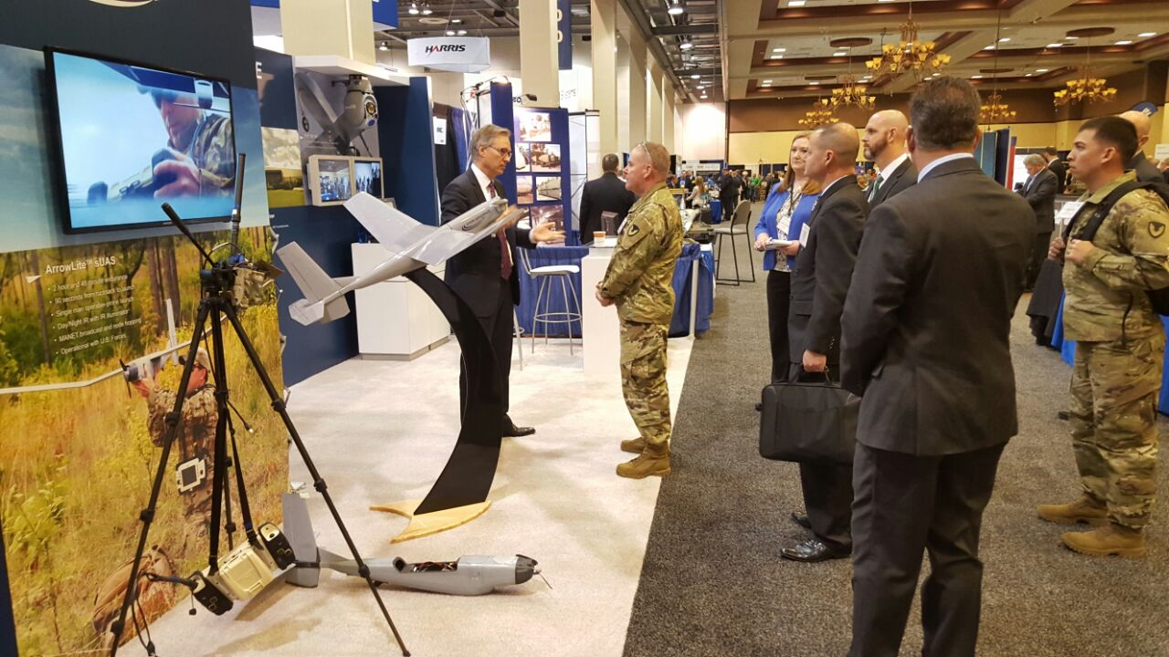 Stark Aerospace Showcased its Latest Technology for the Army at the AUSA Global Force Symposium 1