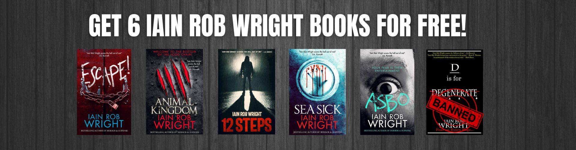 6 FREE IAIN ROB WRIGHT BOOKS! (2)