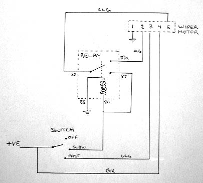 Rear Wiper Motor Wiring Diagram  impremedia