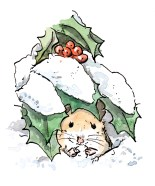 mouse-under-snow