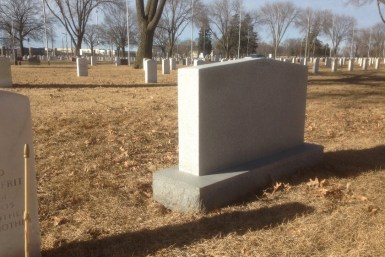 Ft. Snelling Headstones