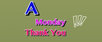 A Big Monday Thank You