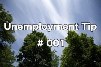 Unemployment Tips