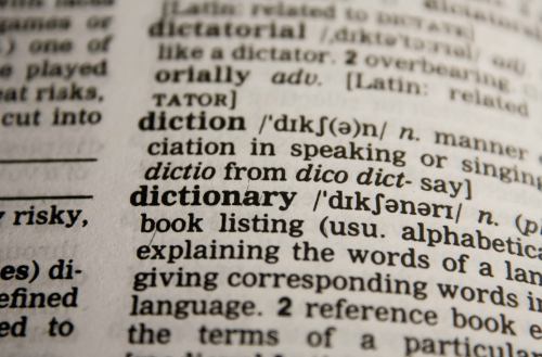 When the unemployment office uses unclear words, people turn to a dictionary.