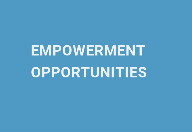 empowerment opportunities
