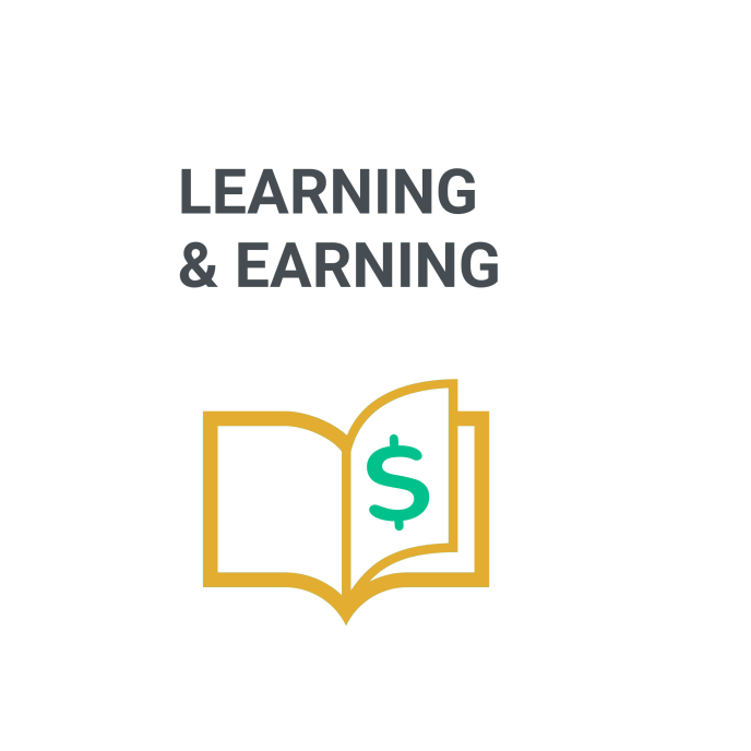 learning and earning
