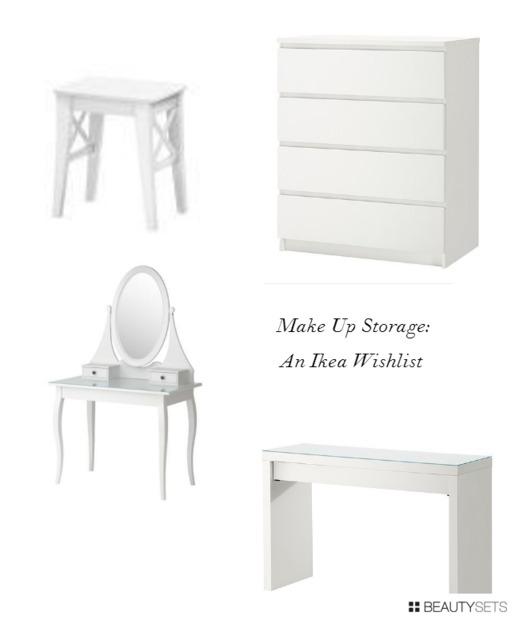 Make up Storage Wishlist